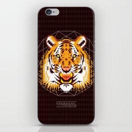 Geometric Tiger iPhone Skin