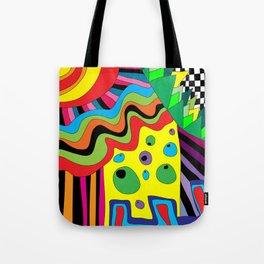 Crazy Circus  Tote Bag