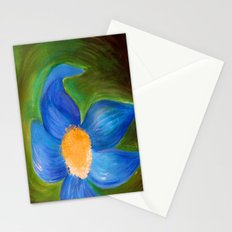 Blue Petal Stationery Cards