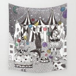 Night Carnival Wall Tapestry