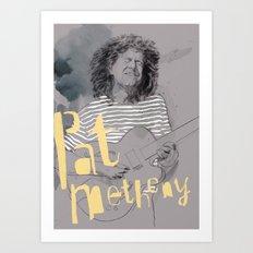 pat metheny Art Print