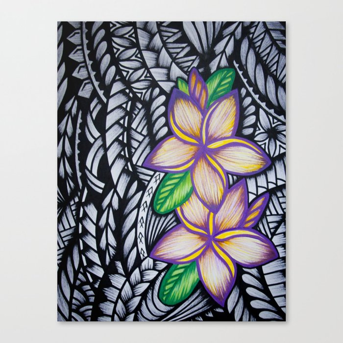 PURPLE PUA Canvas Print