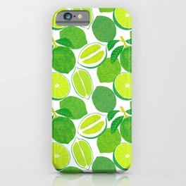Lime Harvest iPhone Case