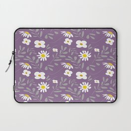 Joyful Folk Floral : Purple Laptop Sleeve