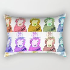 Pop Art Dogs Rectangular Pillow