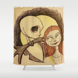 Jack & Sally Shower Curtain