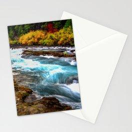 Autumn Metolius River Oct 2020, © David Millenheft Art Collection,  Stationery Cards