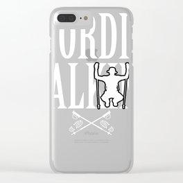 Nordic Walking walking gift sport horse mackerel Clear iPhone Case