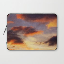 EvEninG clouDs Laptop Sleeve