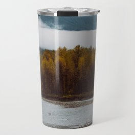 autumn fog Travel Mug