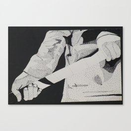 Hockey Hands Canvas Print