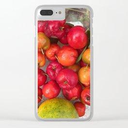 Juicy Fruit Clear iPhone Case