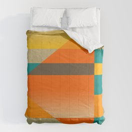 GEO THURSDAY | orange Comforters