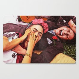 Frida y Chavela Cutting Board