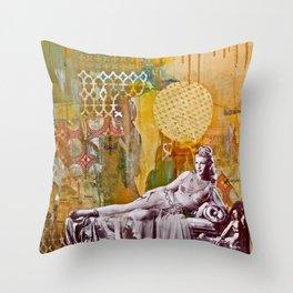 Golden Slumbers Throw Pillow