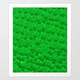 Emerald Eft Art Print