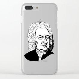 Johann Sebastian Bach Clear iPhone Case