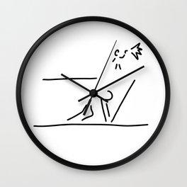 100 metre sprint athletics start Wall Clock