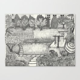 Old Man's Domain Canvas Print