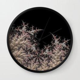 Frozen white Wall Clock