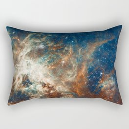 Space Nebula, Star and Space, A View of Galaxy and Outerspace Rectangular Pillow