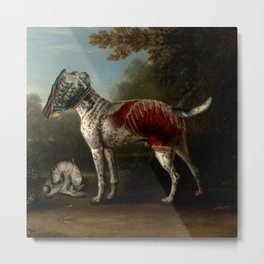 Offal Pointer Metal Print