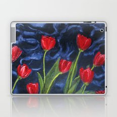 Tulips are red... Laptop & iPad Skin