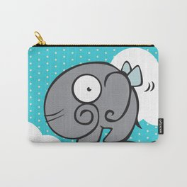 Flying elephant Carry-All Pouch