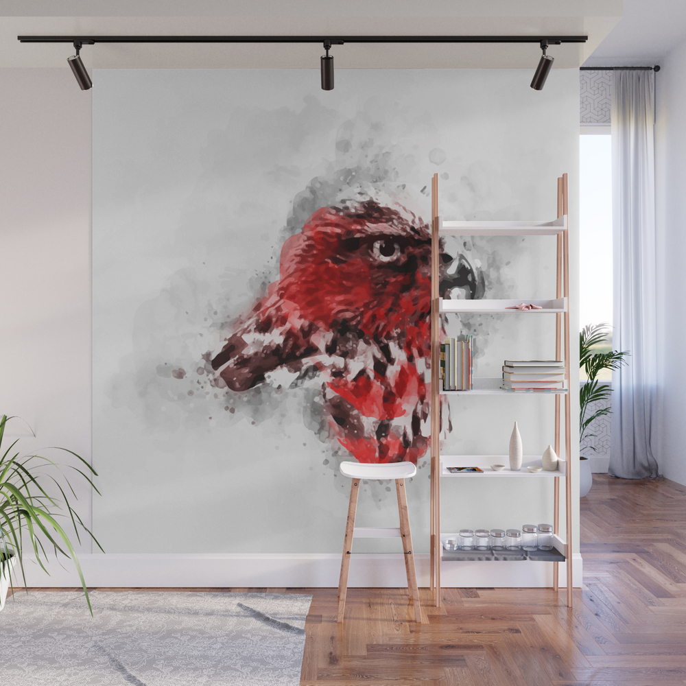Redbreast Wall Mural by Maioriz (WMP7893034) photo