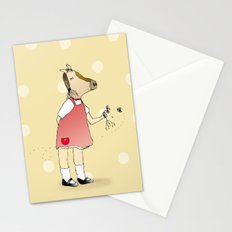 Little Horse Girl Stationery Cards