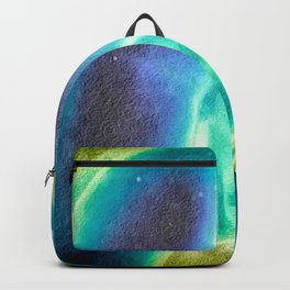 Blue Dick and Balls for the Walls Backpack