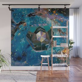 Dodecahedron Wall Mural
