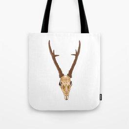 Skull of roe deer Tote Bag