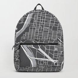 Center City Philadelphia Map Backpack