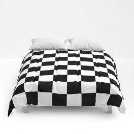 black white comforters society6