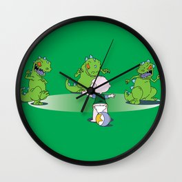 Jurassic Baby Wall Clock