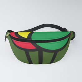 Glow worm Under the Moon Fanny Pack