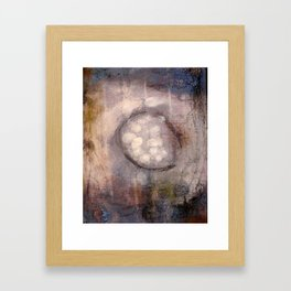 Lost Eye - Mixed Media Acrylic Abstract Modern Art, 2009 Framed Art Print