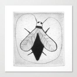 BZZ - strange fly Canvas Print