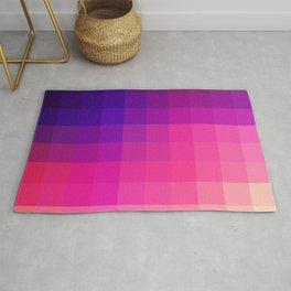 Valva - Pink Pixel Mosaic Rug