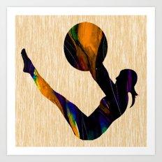 Fitness Art Print