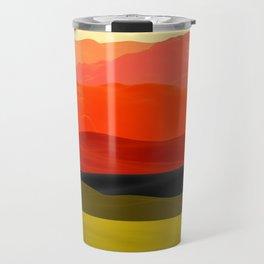 Mountains in Gradient Travel Mug