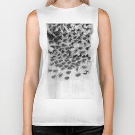 Melting black Biker Tank