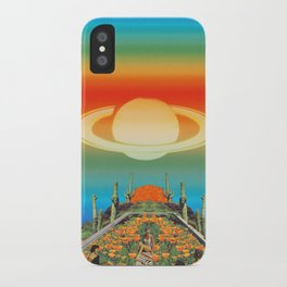 Pool of flowers  iPhone Case
