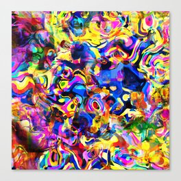 Abstract Mess Canvas Print