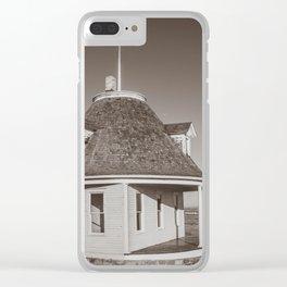 Hurd Round House, Wells County, North Dakota 25 Clear iPhone Case