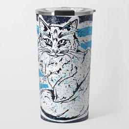 Cat stripes Travel Mug