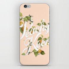 Peachy Keen : Peach iPhone & iPod Skin