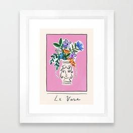 Le Vase Framed Art Print