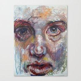 In The Mirror, Again Canvas Print